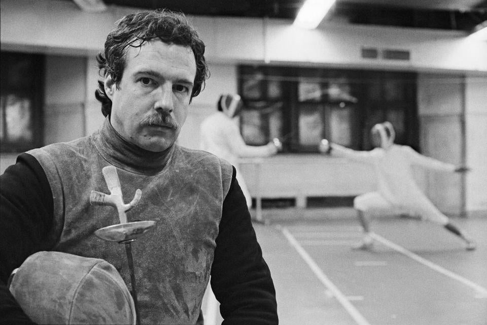 Mr. Kolombatovich spent 32 years as a coach of the Columbia fencing team.