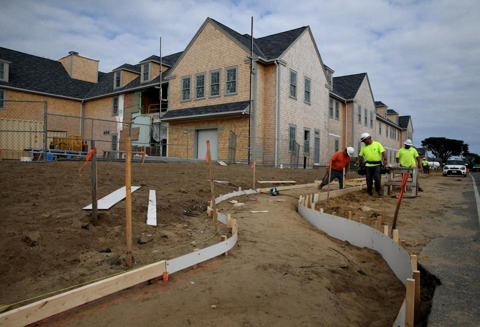 As part of a major renovation of Nantucket Cottage Hospital, 83 units of housing are being built to recruit — and keep — critical workers.
