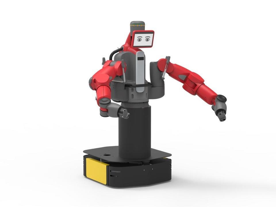 Rethink Robotics' Baxter lost out to a faster, simpler, and smaller competitor from Denmark.