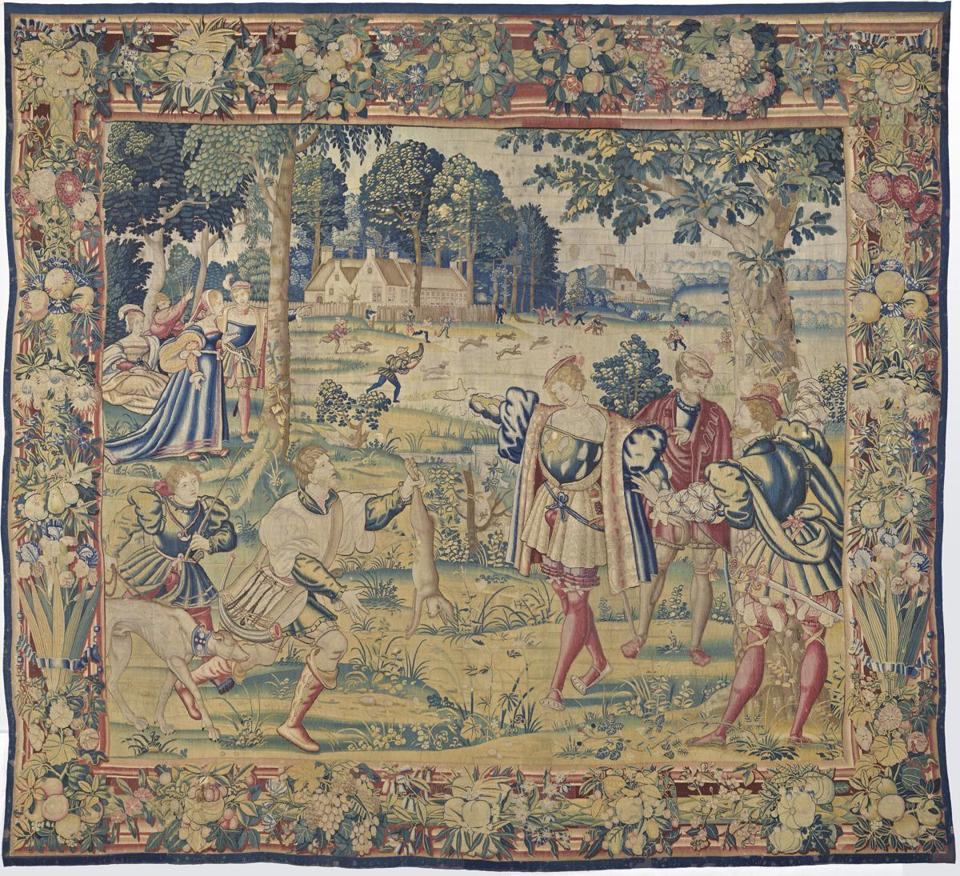 "A 16th-century tapestry from ""Common Threads."""