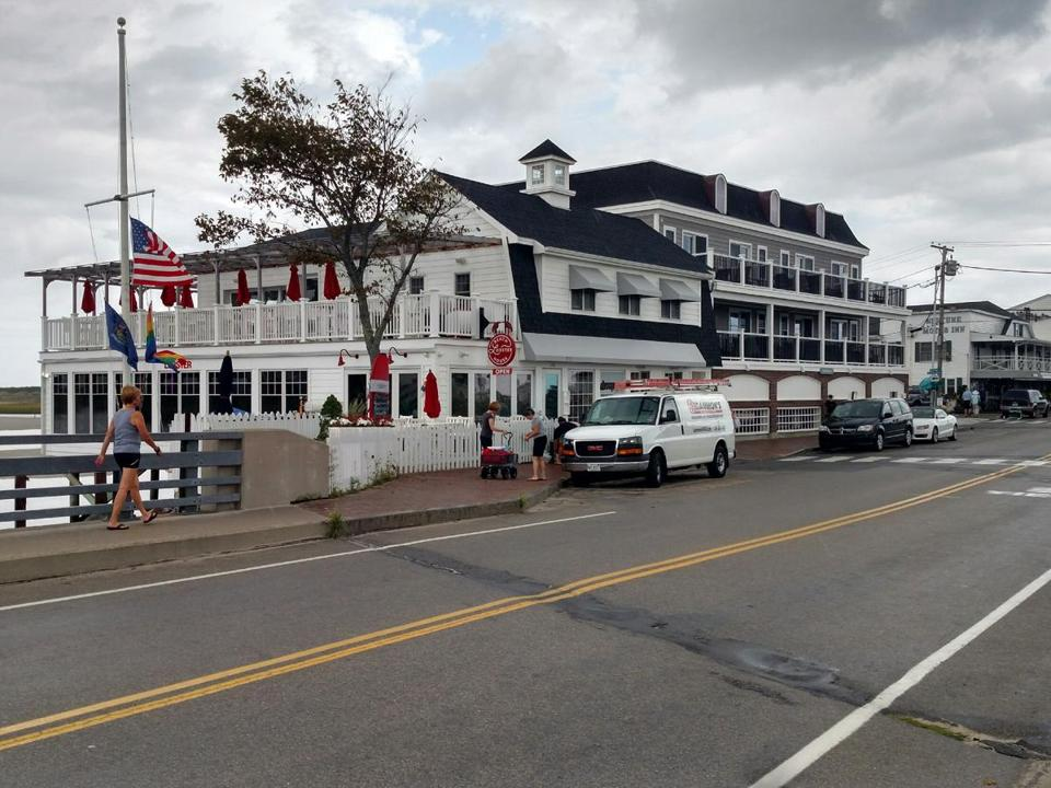 The Beach Lobster House (left) is new; the Norseman Resort (right) added rooms.