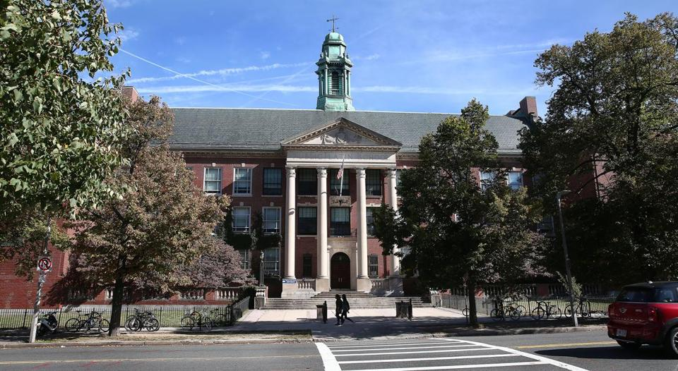 Nearly half the students at Boston Latin School, founded in 1635, are white, though whites account for just 14 percent of Boston's students.