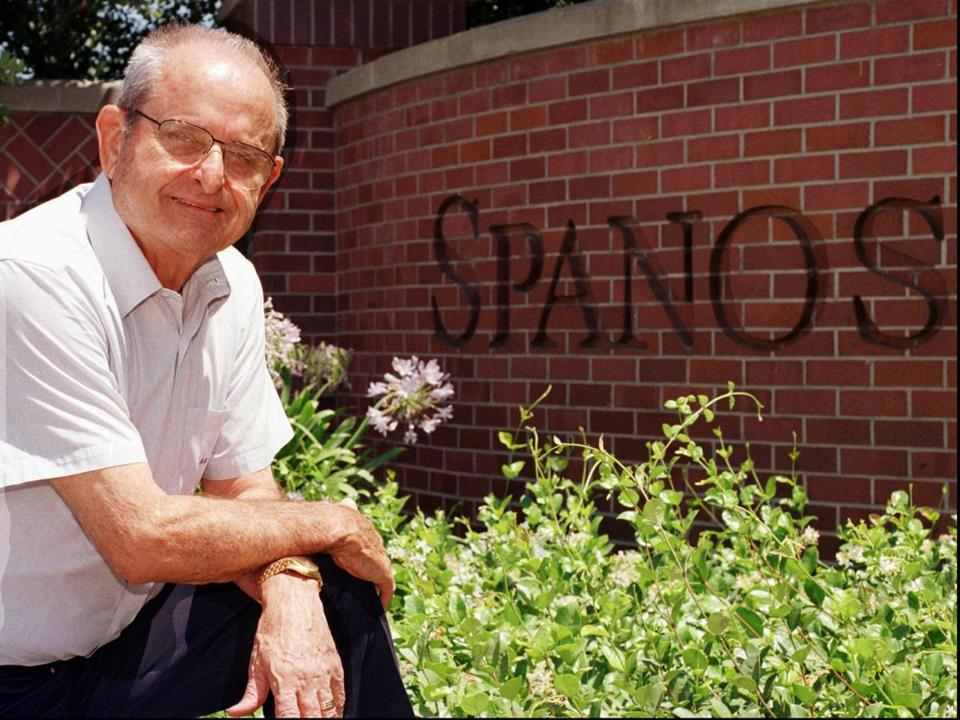 Mr. Spanos, the son of immigrants, rose from working in the family bakery to owning an NFL franchise.