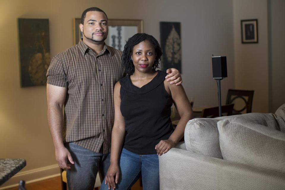 Chiedozie Uwandu and Jaleesa Jackson.