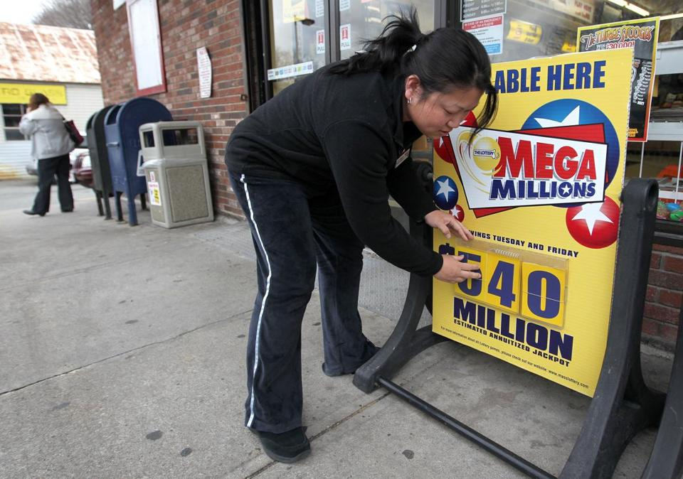 The Mega Millions jackpot for Friday's drawing is $548 million.