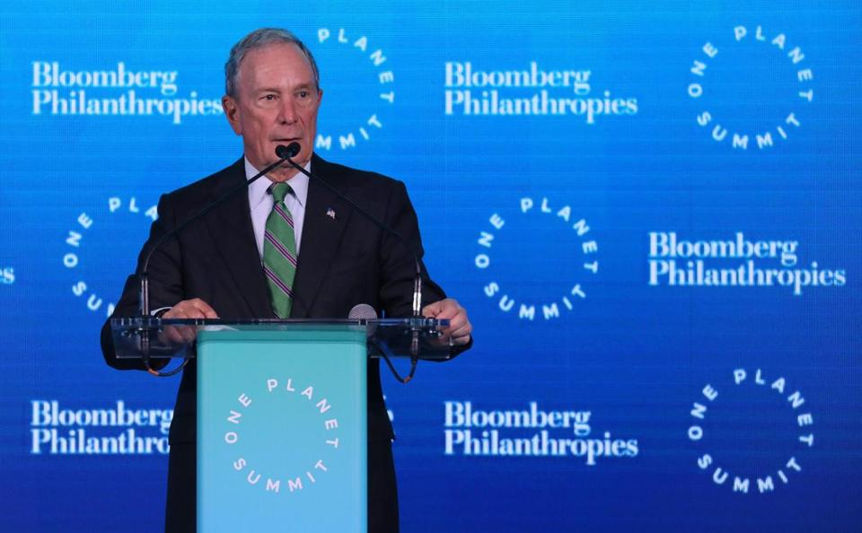 Billionaire businessman and former New York mayor Michael Bloomberg has not ruled out a presidential run.
