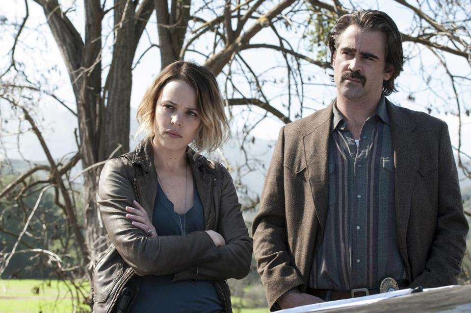 """True Detective"" is moving on from season 2, which starred Rachel McAdams and Colin Farrell."