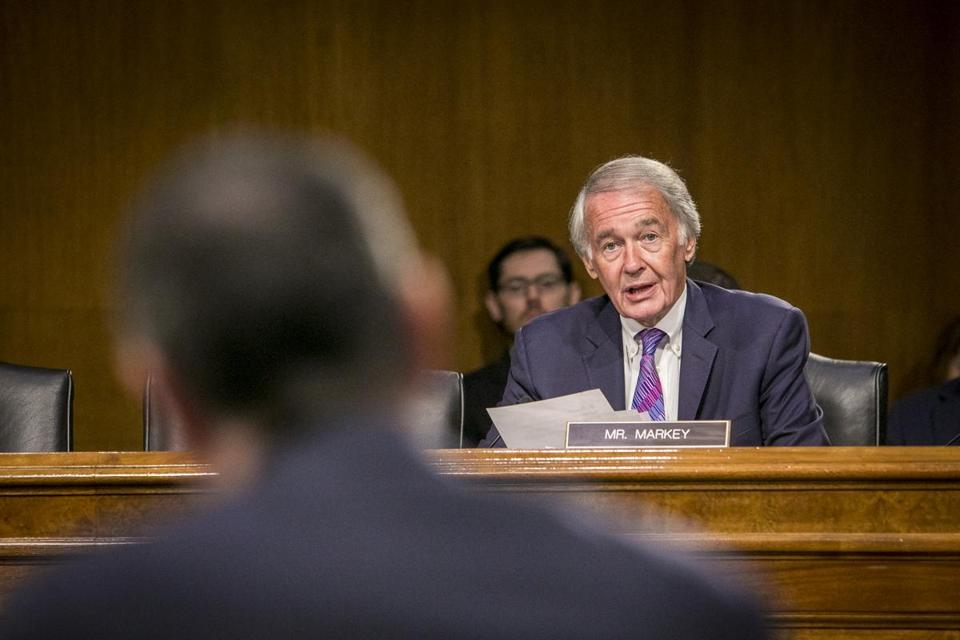 Senator Ed Markey questioned David Pekoske, Administrator of the Transportation Security Administration last month.