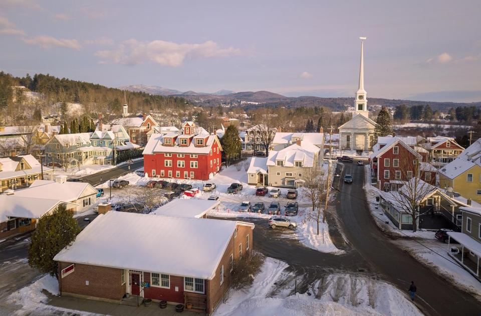 Stowe Village offers plenty to do with its shops, museums, and a snowshoe-ready recreation path.