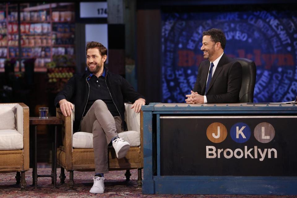 John Krasinski and Jimmy Kimmel reignited their years-long prank war ...