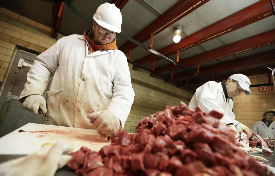 The tough working conditions for meatpackers have long forced the industry to turn to immigrants for workers. But tougher immigration policies have left many jobs unfilled.