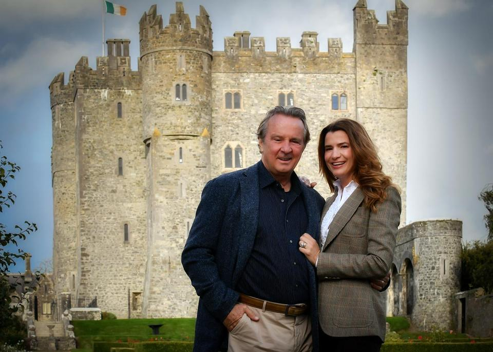 Jay and Christy Cashman bought Kilkea Castle in County Kildare, Ireland, and turned it into a hotel, resort, and their second home.