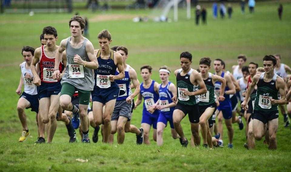 The Catholic Memorial Invitational was held at Franklin Park Oct. 20.