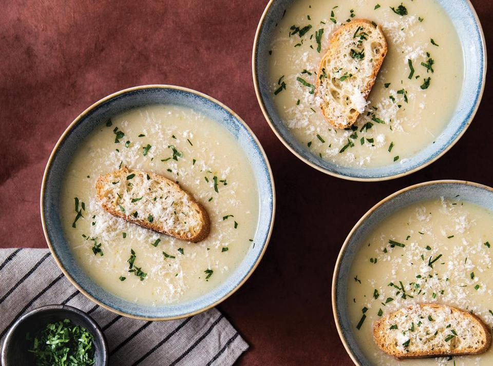 Recipes: Warm up with garlic soups