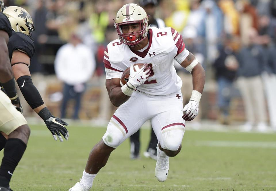 A.J. Dillon s status is the game-planning focus of both BC and Miami ... dcdd2feb7