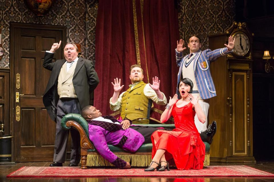 """The Play That Goes Wrong"" centers on a troupe of hapless amateur actors."