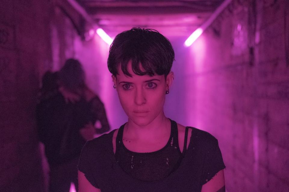"Claire Foy stars in ""The Girl in the Spider's Web."""