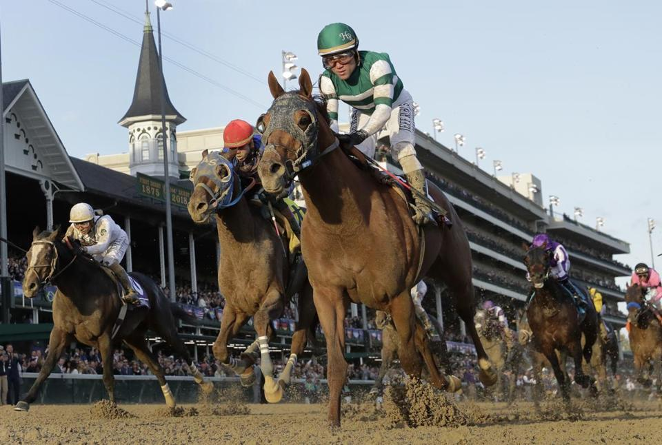 Accelerate Finishes Strong To Win Breeders Cup Classic