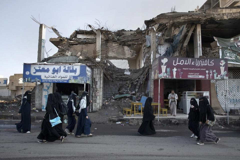 Airstrikes have been common in many Yemeni cities, including the capital, Sana.