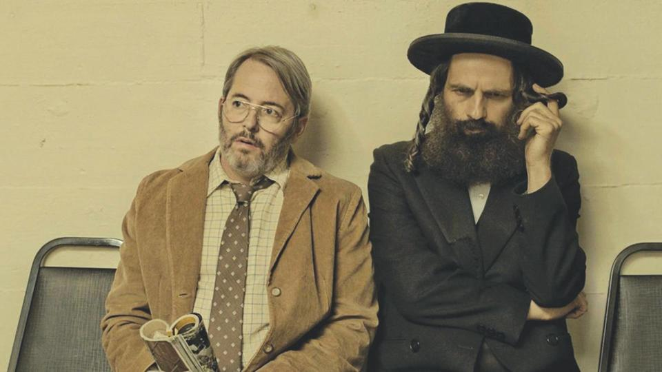 "Matthew Broderick and Geza Rohrig in ""To Dust,"" which will screen at the Boston Jewish Film Festival."