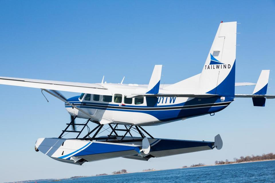 Cape Air and Tailwind are both looking to launch seaplane service for Boston-to-New York runs.
