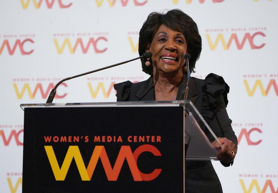 Representative Maxine Waters has opposed looser regulations on financial services firms.