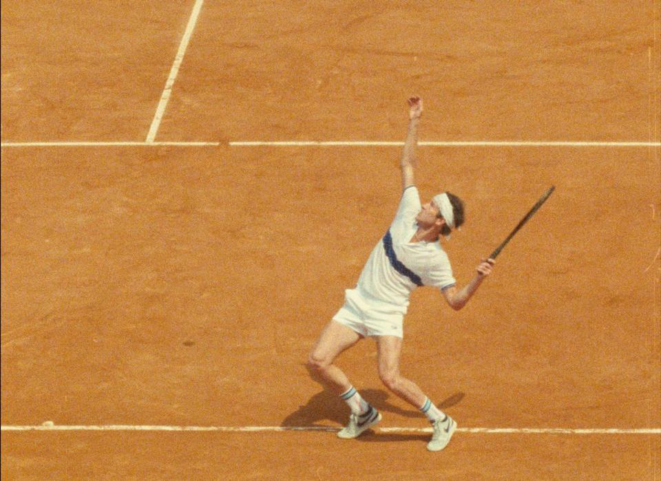 "An image from ""John McEnroe: In the Realm of Perfection."""