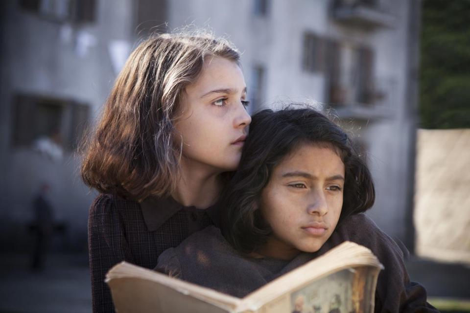 "Elisa Del Genio and Ludovica Nasti portray the lead characters as preteens in the eight-episode HBO series ""My Brilliant Friend."""