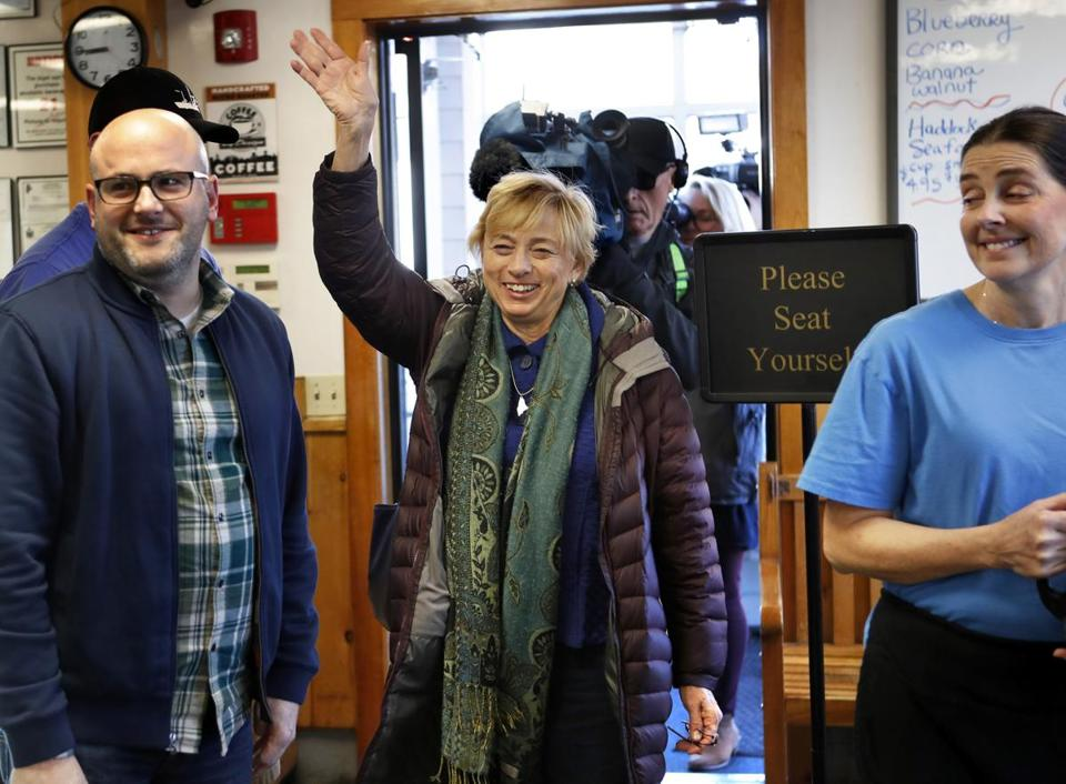 Governor-elect Janet Mills said other recently elected Democrats largely agree with Mills on improving health care and education, as well as addressing climate change and expanding access to broadband.