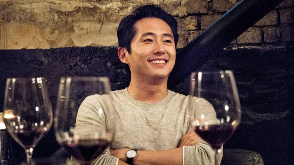 "Steven Yeun in the film ""Burning."""