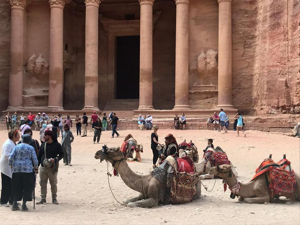 The Treasury at Petra in Jordan is among the popular travel destinations for empty nesters.