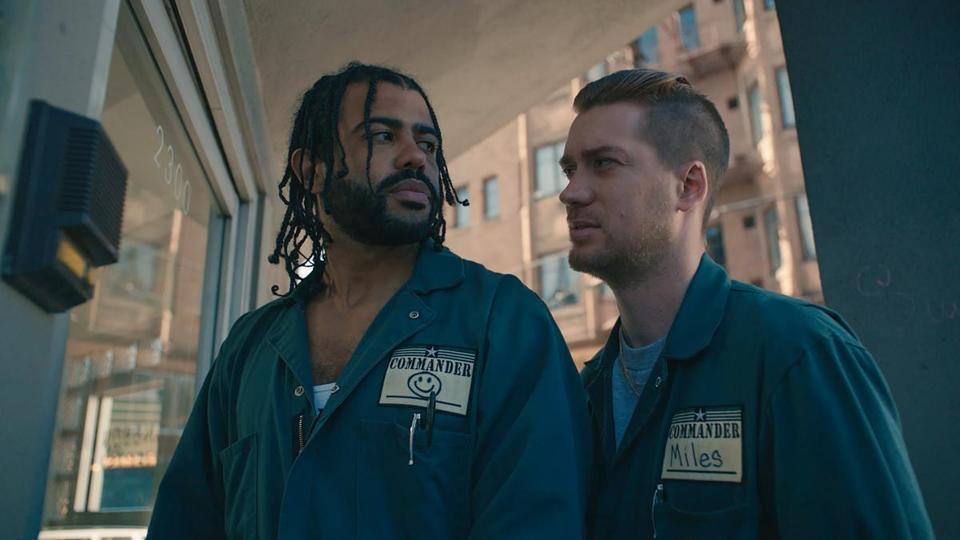 "Daveed Diggs and Rafael Casal as longtime friends in the 2018 film ""Blindspotting,"" directed by Carlos Lopez Estrada."