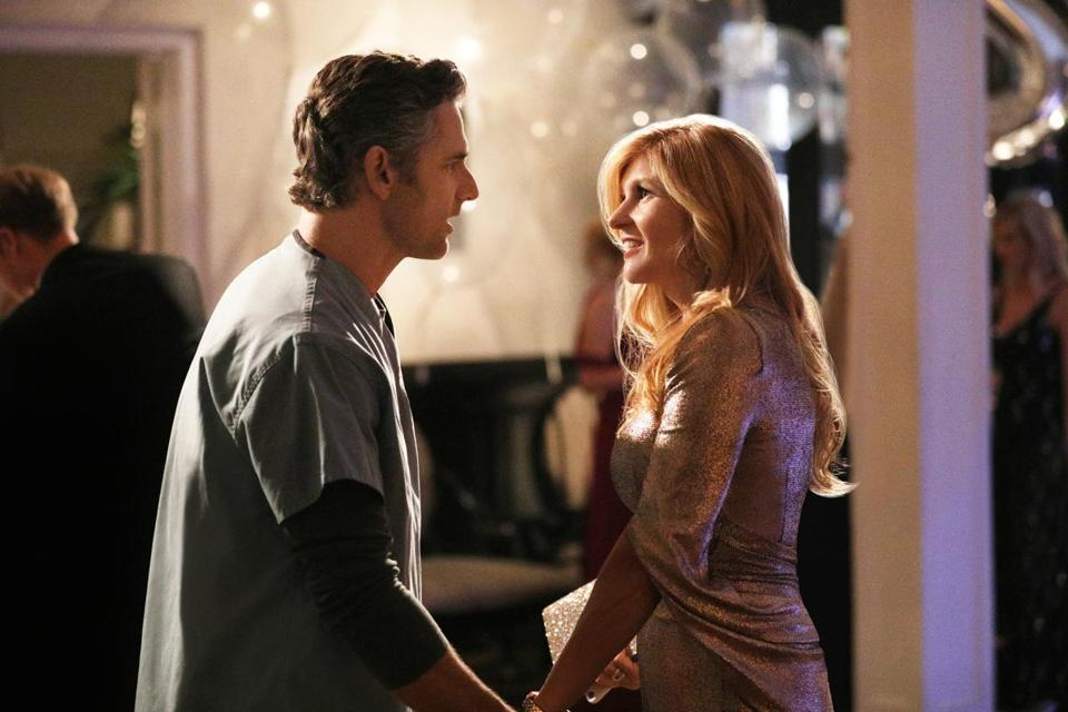"Eric Bana and Connie Britton star in Bravo's ""Dirty John."""