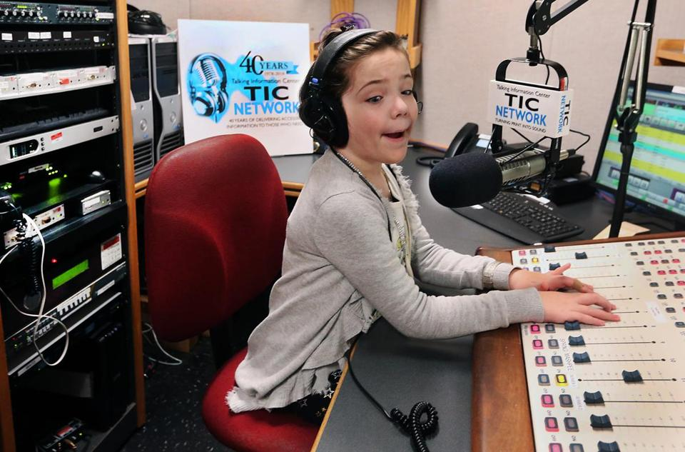 Faith Murray made a recording for the Talking Information Center Network.