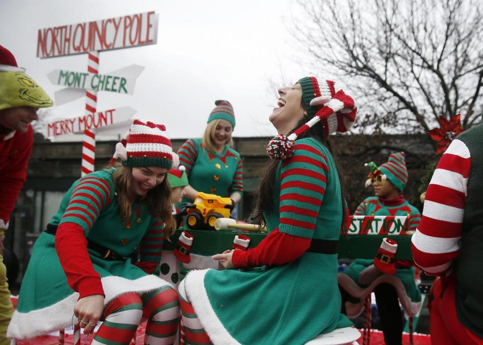 Do you hear what I hear? Quincy\'s Christmas Parade goes on despite ...