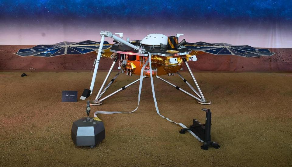 insight landing on mars pictures - photo #11
