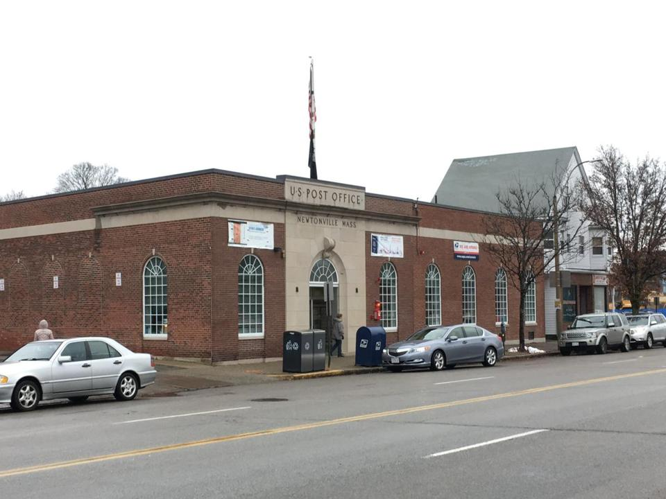 Mark Development recently bought the Newtonville Post Office building and other parcels.