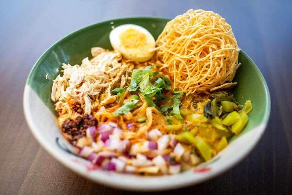 10/25/2018 SOMERVILLE, MA Khao Soi at Dakzen in Somerville. (Aram Boghosian for The Boston Globe)