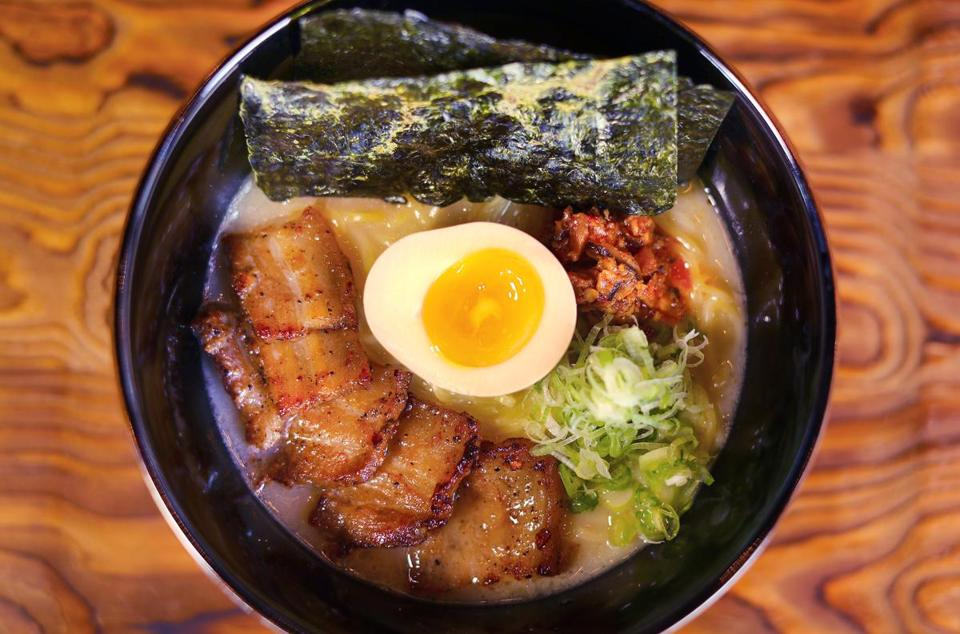 Cambridge-01/27/2017 The Pagu on Mass. Ave. Guchi's ramen. John Tlumacki/Globe Staff(lifestyle)