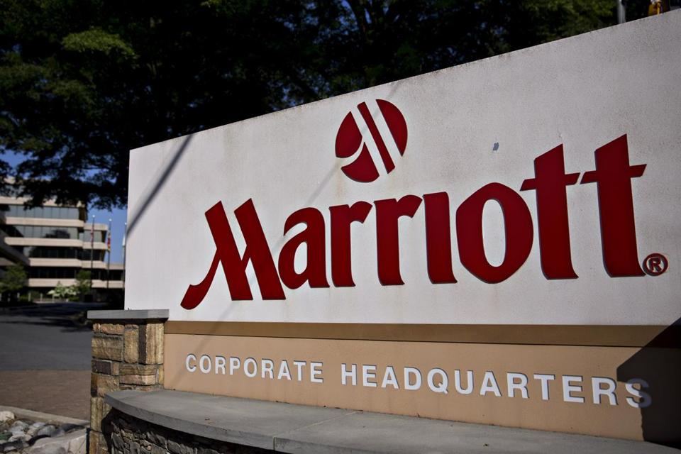 Marriott's international headquarters is in Bethesda, Md.