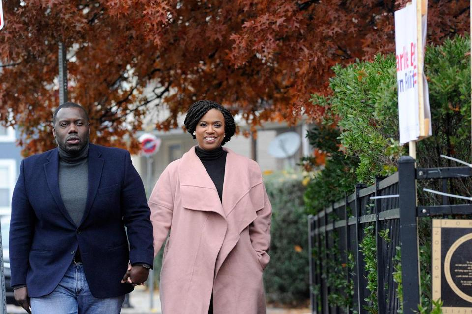 Ayanna Pressley's husband left City Hall to launch ...