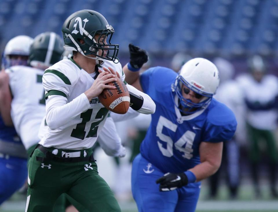 Judah Dishington passed for 213 yards and two TDs for Nipmuc.