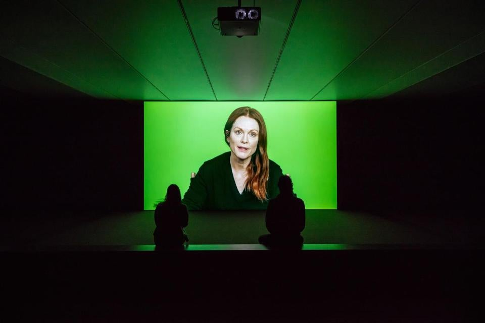 Love Story Candice Breitz (South African, born in 1972) Featuring Julianne Moore 2016 7-Channel Installation *Museum purchase with funds donated by Lizbeth and George Krupp *Courtesy, Goodman Gallery, Kaufmann Repetto + KOW *Courtesy, Museum of Fine Arts, Boston