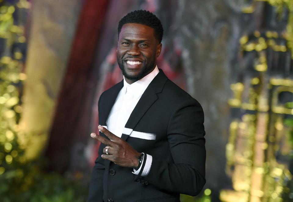 Comedian Kevin Hart in Los Angeles in 2017.