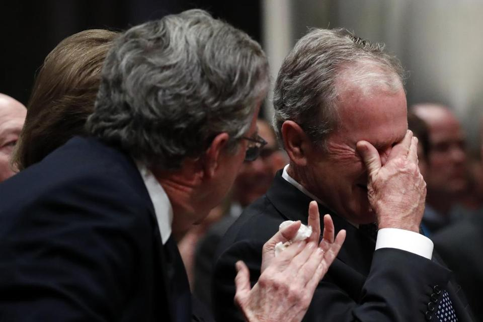 Latest Updates The Funeral Of President George H W Bush The