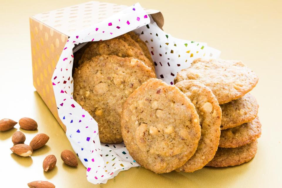 Roasted-almond cookies