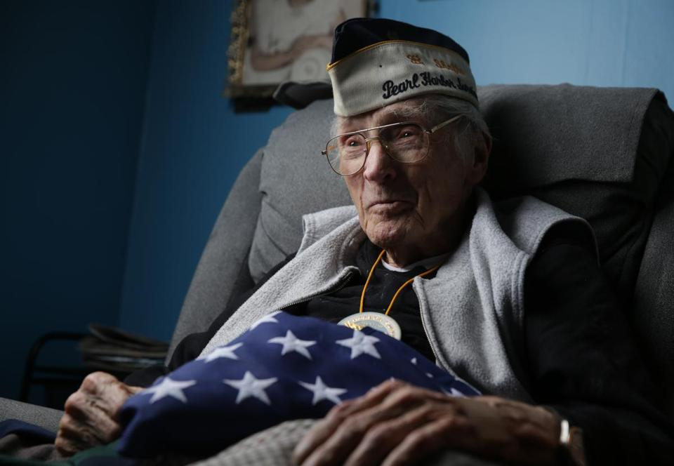 "George Hursey, 98, of Brockton, still has vivid memories of ""date which will live in infamy."""