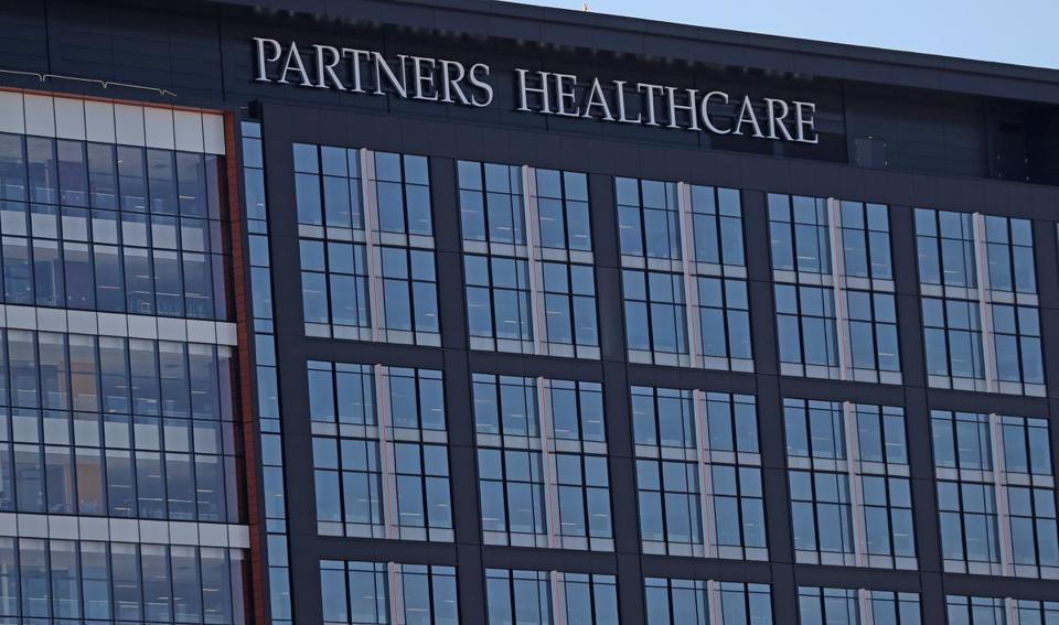 The headquarters of Partners HealthCare in Somerville's Assembly Row.
