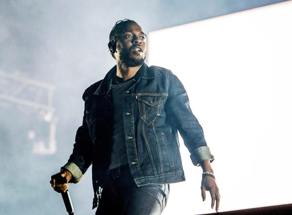 Kendrick Lamar topped all recording artists with eight nominations.