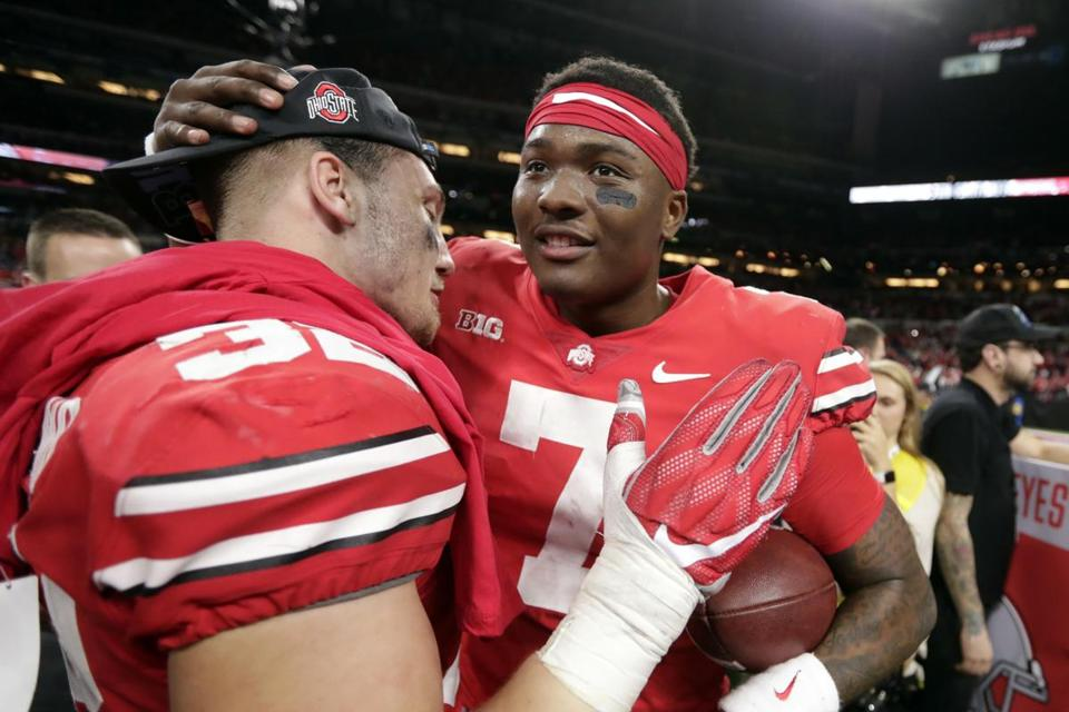 Ohio State's Dwayne Haskins (7) threw for 4,580 yards and 47 touchdowns with a completion percentage of 70.2